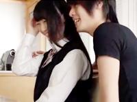 タツ まだ経験人数の少ない女子校生を優しいキスでリードしながら可愛く感じさせて着衣エッチしちゃうジャニーズ系のイケメンお兄さんerovideo女性のための無料アダルト動画