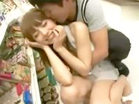 貞松大輔 モデルさんみたいに美人なハーフの彼女にコンビニで発情しちゃったエロい彼氏が人目を気にしながらドキドキ大胆セックス Rio(柚木ティナ) erovideo 女の子のための無料H動画