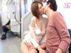 ショートヘアの綺麗な人妻お姉さんが最終電車で酔い潰れてパンチラ見放題だったので興奮してガン見していた男性が誘惑されて車内SEX erovideo 女性向け無料アダルト動画