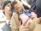 藍井優太 通学中の満員電車でオッパイの大きな女子高生が後ろに密着したイケメン男子高校生の固い股間にムラムラ欲情しちゃってドキドキH erovideo 女の子のための無料H動画