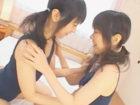 【レズ】可愛らしい双子の童顔美少女がスクール水着姿で小動物みたいにじゃれ合い唇と肌を重ね合うレズプレイ あいり/めいり FC2 女性専用無料エロ動画