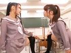 【レズ】教室での口喧嘩がエスカレートし興奮しすぎてセーラ服を脱がせ合いながらレズっちゃう気が強い美少女女子校生 裏アゲサゲ女の子のための無料 H 動画