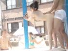 気持ちイイのに喘ぎ声を必死でガマンする姿がカワイイ素人女子大生がサークルの男友達とMM号でマッサージごっこセックス erovideo 女性専用無料エロ動画