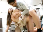 テレビ修理に来た業者の若いお兄さんを誘惑しちゃうセックス依存症なエロ奥さまが興奮して超積極的に他人棒を求める浮気セックス erovideo 女性専用無料エロ動画
