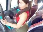 浅野あたる 満員のバスの車内でパツパツのミニスカートの美尻をサラリーマン男性に押し付けて痴女ちゃっう変態OLお姉さんの逆痴漢エッチ erovideo女性専用無料エロ動画
