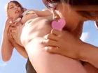 南佳也 南の島のプライベートビーチの波打ち際でマッチョなお兄さん達と求め合うモデル系ビキニ美女の大胆な青姦3Pセックス 裏アゲサゲ女性のための無料アダルト動画