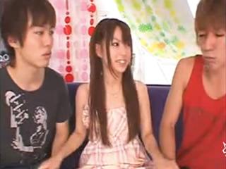 鈴木一徹 イケメン2人に同時に告白された美少女が一方を選ぶことは出来ずに仲良く3Pエッチしちゃう 初美りおん FC2 女性専用安心安全無料アダルト動画